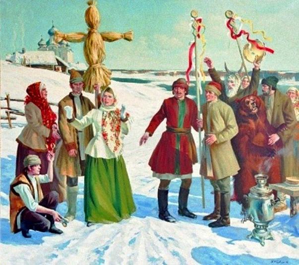 Народные обряды на новый год